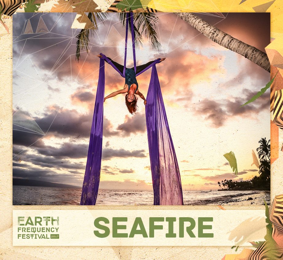Earth Frequency Festival Aerialist
